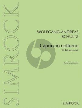 Schultz Capriccio notturno Bläserquintett (Part./Stimmen)