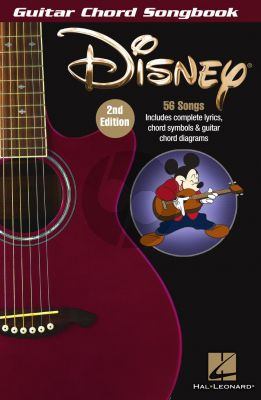 Disney – Guitar Chord Songbook (2nd edition)
