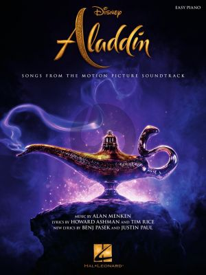 Menken Aladdin Easy Piano (Songs from the Motion Picture Soundtrack)