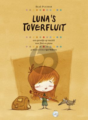 Pucihar Luna's Toverfluit Flute and Piano (Bk-Cd)