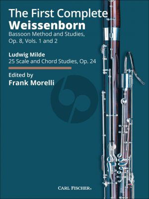 Weissenborn The First Complete Weissenborn Method (Opus 8 Volumes 1 and 2 and Milde Opus 24) (Edited by Frank Morelli) (New Spiral-bound Edition)