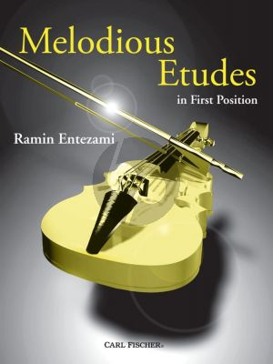 Entezami Melodious Etudes for Violin
