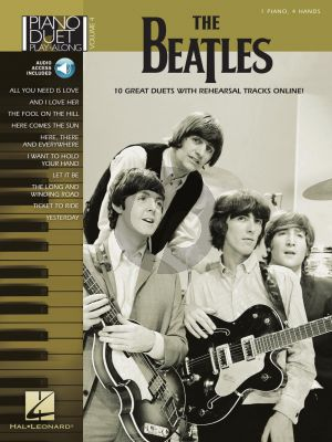 The Beatles - Piano Duet Play-Along Volume 4 (Book with Audio online)