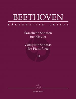 Beethoven Sämtliche Sonaten für Klavier Band 3 (Jonathan Del Mar)