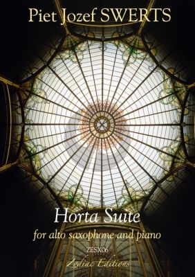 Swerts Horta Suite for Aalto Saxophone and Piano