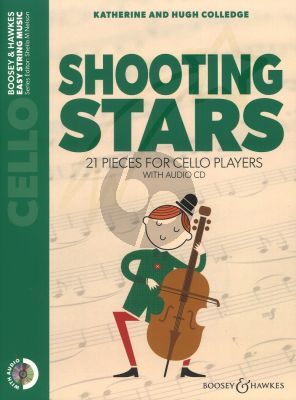 Colledge Shooting Stars Cello with Audio CD
