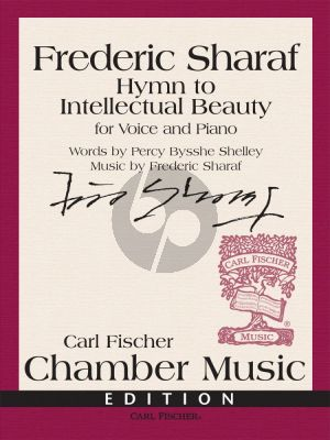 Sharaf Hymn to Intellectual Beauty Voice and Piano (lyrics Percy Shelley)