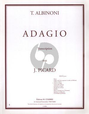 Albinoni Adagio for Violin and Organ