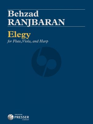 Ranjbaran Elegy for Flute, Viola, and Harp (Movement 2 from Concerto for Cello and Orchestra) (Score/Parts)