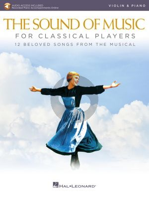 Rodgers-Hammerstein The Sound of Music for Classical Players for Violin and Piano (Book with Audio online)