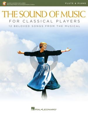 Rodgers-Hammerstein The Sound of Music for Classical Players for Flute and Piano (Book with Audio online)