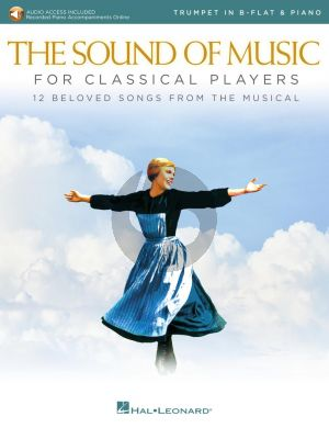 Rodgers-Hammerstein The Sound of Music for Classical Players for Trumpet and Piano (Book with Audio online)