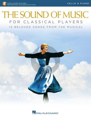 Rodgers-Hammerstein The Sound of Music for Classical Players for Cello and Piano (Book with Audio online)