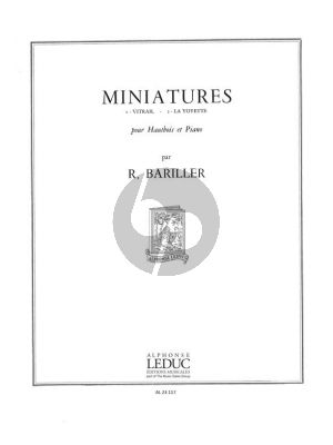 Bariller Miniatures for Oboe and Piano
