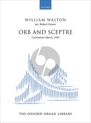 Vaughan Williams Orb and Sceptre for Organ (Coronation March, 1953) (arr. Robert Gower)
