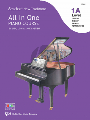 Bastien New Traditions All In One Piano Course - Level 1A