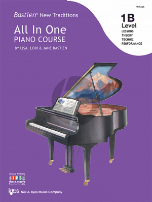 Bastien New Traditions All In One Piano Course - Level 1B