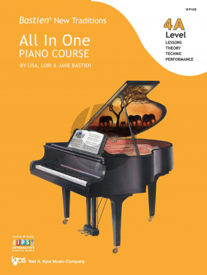 Bastien New Traditions All In One Piano Course - Level 4A