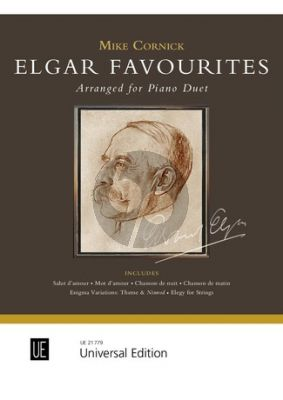 Elgar Favourites for Piano 4 hands (transcr. by Mike Cornick)