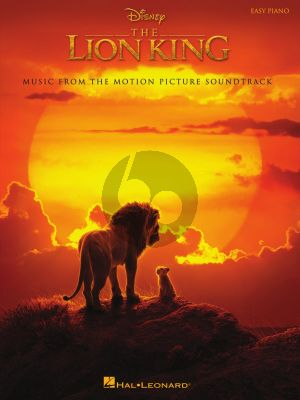The Lion King Easy Piano (Music from the Disney Motion Picture Soundtrack)