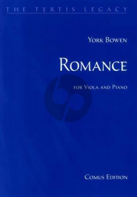Bowen Romance in D flat for Viola and Piano