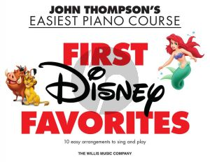 First Disney Favorites Piano solo
