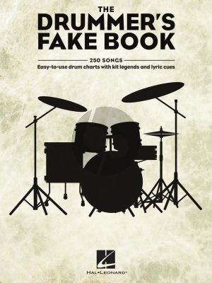The Drummer's Fake Book (Easy-to-Use Drum Charts with Kit Legends and Lyric Cues)