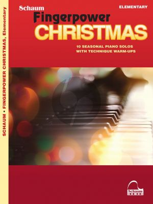 Schaum Fingerpower® Christmas (10 Seasonal Piano Solos with Technique Warm-Ups) (arr. James Poteat)