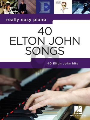 Really Easy Piano 40 Elton John Songs