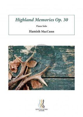 MacCunn Highland Memories Opus 30 Piano solo