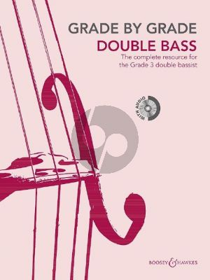Grade by Grade - Double Bass Grade 3 Double Bass and Piano (Book with CD) (edited by Cathy Elliott)