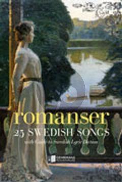 Album Romanser 25 Swedish Songs with Guide to Swedish Lyric Diction (ed. Kathleen Roland-Silverstein)
