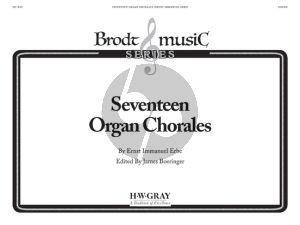 Brahms 17 Organ Chorales (arr. Hermene Warlick Eichhorn)