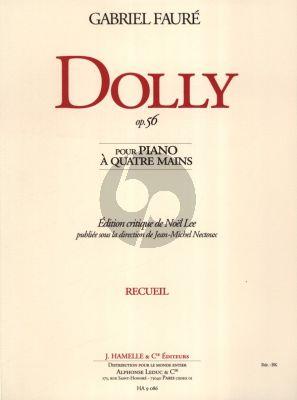 Faure Dolly Suite Op.56 Piano 4 Hands (Hamelle)