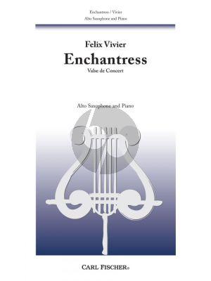 Vivier Enchantress Alto Saxophone and Piano