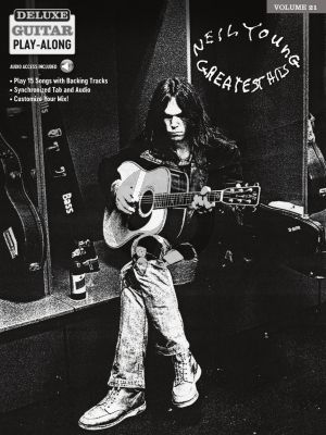 Neil Young Greatest Hits Guitar (Deluxe Guitar Play-Along Volume 21) (Book with Audio online)