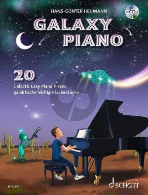 Heumann Galaxy Piano (20 Galactic Easy Piano Pieces) (Bk-Cd)