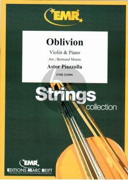 Piazzolla Oblivion for Violin and Piano (arr.: Bertrand Moren)