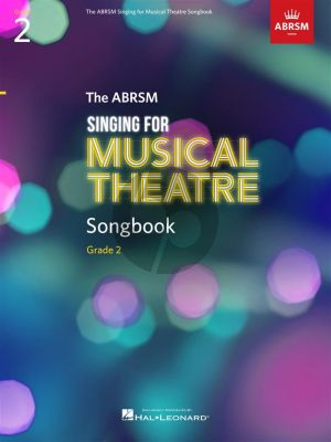 The ABRSM Singing for Musical Theatre Songbook Grade 2