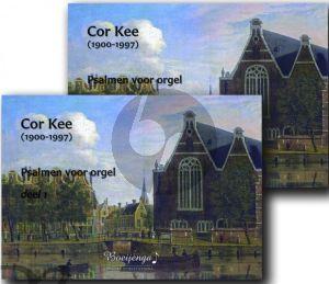 Kee Psalmen Vol.1-2 Orgel (Redactie Lourens Stuifbergen) (2 Books at reduced price)