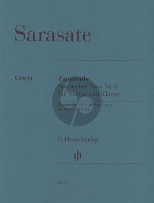 Sarasate Zapateado, Spanish Dance no. 6