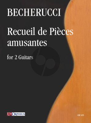 Becherucci Recueil de Pièces amusantes for 2 Guitars