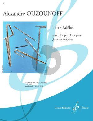 Ouzounoff Terre Adélie Piccolo et Piano (intermediate level grade 6)