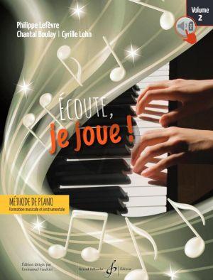 Ecoute, Je Joue! Piano Volume 2 (Livre - Audio et PDF)