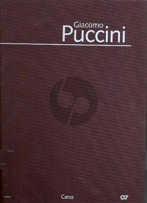 Puccini Messa a 4 Voici (Messa di Gloria) Soli-Choir-Orchestra Full Score (Bound edition) (Dieter Schickling)