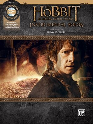 Shore The Hobbit Instrumental Solos for Strings for Cello Book with Cd (from The Motion Picture Trilogy) (arr. Bill Galliford)