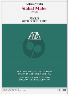 Vivaldi Stabat Mater RV 621 Alto Voice-Strings-Bc (Vocal Score) (edited by Paul Everett)