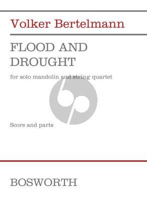 Bertelmann Flood and Drought Mandolin with String Quartet (Score/Parts)