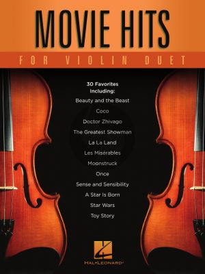 Movie Hits for Violin Duet