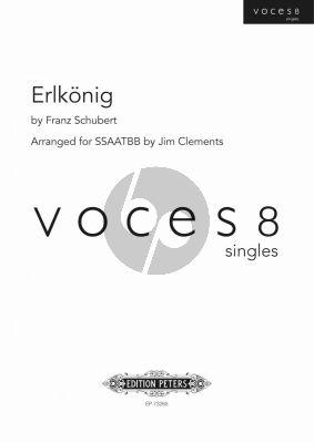 Schubert Erlkönig SSAATTBB (arr. Jim Clements) (Voces 8 Series)